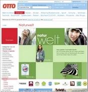otto.de - Einstiegsseite Naturwelt (klein)