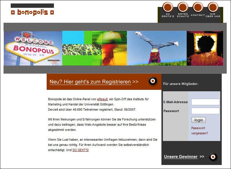 Startseite bonopolis.de