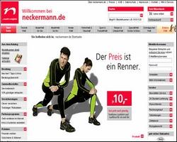 Startseitengestaltung Neckermann (Ende 2006) (klein)