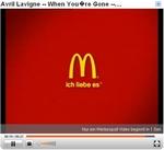 Video-Ad von McDonald\'s vor Musikvideo 2 (klein)