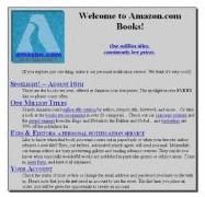 Amazon ganz zu Anfang