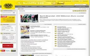 Startseite des ÖAMTC