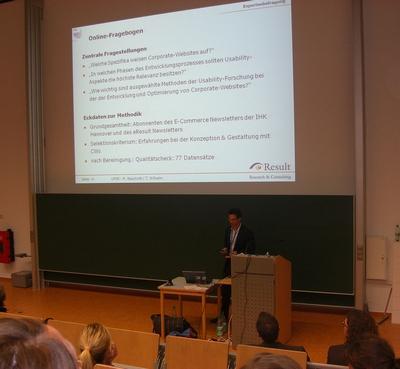 MUC2008 / UP08 Vortrag von Martin: Konzeption, Analyse und Optimierung von Corporate Websites