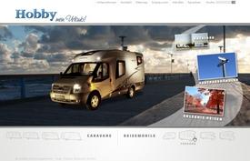 Konzept: Hobby Wohnwagen