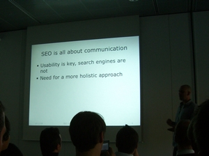 Session: SEO is dead, long live SEO