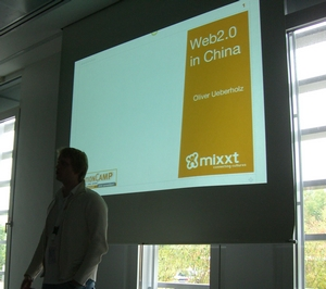 Erste Session: Web2.0 in China