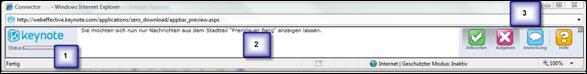AnsichtTestperson, oberes Browserfenster