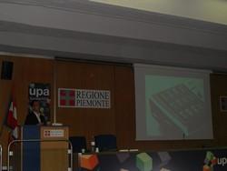 """Jens Jacobsen auf der UPA 2008 in Turin zum Thema """"Usability von Audiocontent"""""""