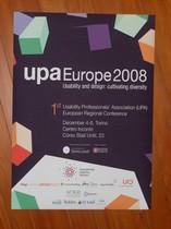 UPA Europe: Plakat zur Veranstaltung