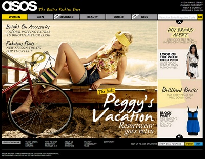 zum asos Online-Shop
