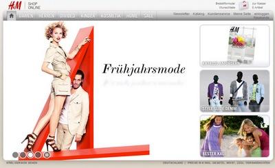 Startseite H&M-Shop