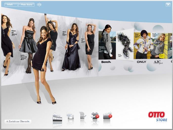 beispiel innovative produktprsentation im otto vista shop - Produktprasentation Beispiel