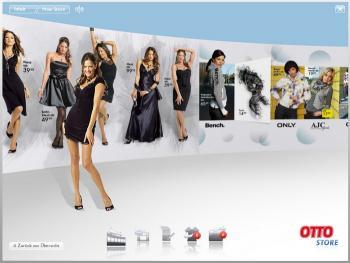 Beispiel: innovative Produktpräsentation im Otto Vista Shop