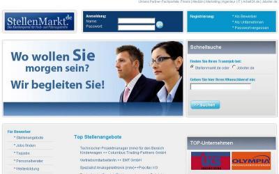 Startseite stellemarkt.de