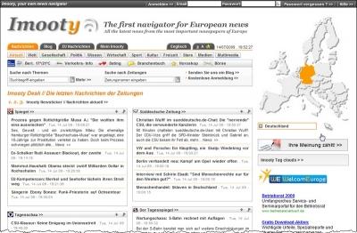 Startseite von imooty (Aktuell - Deutschland)
