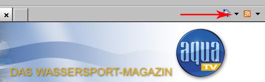 Abonnierung nur per RSS-Funktion des Browsers