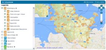sh-tourismus.de: Interaktive Karte