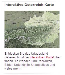 Österreich-Karte austria.info