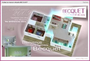 Becquet.fr Startansicht