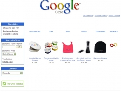 Google Store Startseite