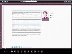 Abb. 08 :: Die Messenger-Funktion des universellen Workspaces.