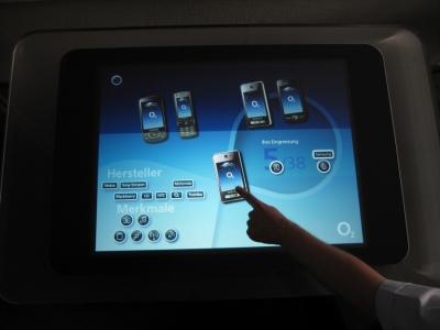 Abb.3: Der Handyberater - Auswahl eines Modells.