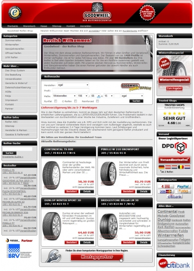 Homepage Goodwheel