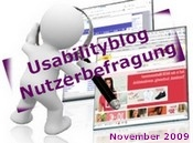 2. Usabilityblog Nutzerbefragung