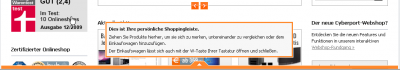 Shoppingleiste_Warenkorb