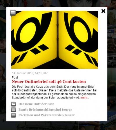 Stern.de-Mosaik Artikelvorschau