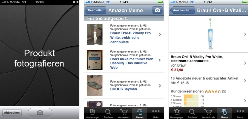 Amazon iPhone-App