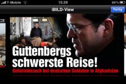iBild-View: Titelbild mit Schlagzeile