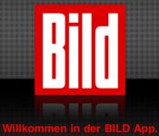 Bild App: Startscreen