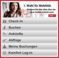 Startseite mobile.airberlin.com