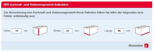 DPD Kalkulator