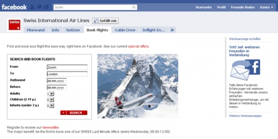 Swiss Air Fanpage