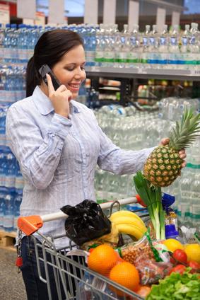 Einkaufsbegleiter Handy