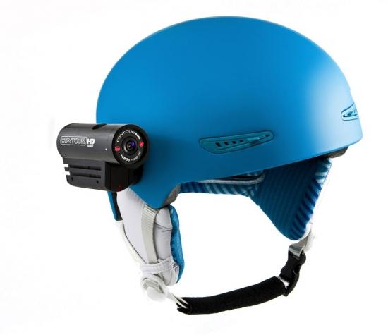 Beispiel für eine Helmkamera
