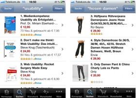 Amazon Produktübersichtsseite
