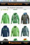 SportScheck-Produktabbildungen Outfitter