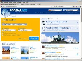 Startseite Booking
