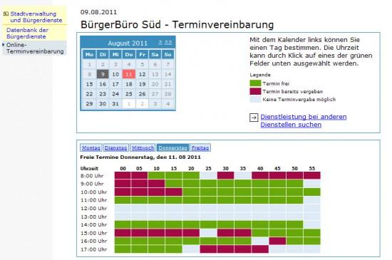 Karlsruhe Terminvereinbarung