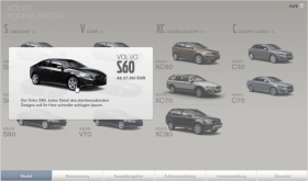 Volvo Modellauswahl