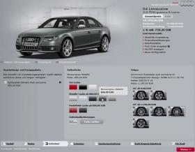 Audi Farbwahl