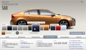 Volvo Farbwahl
