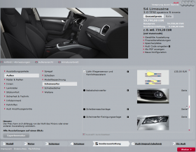 Audi Sonderausstattung