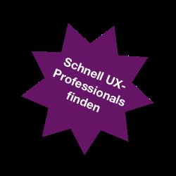 Illustration Schnell UX-Professionals finden
