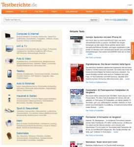 Startseite ab Dezember 2011