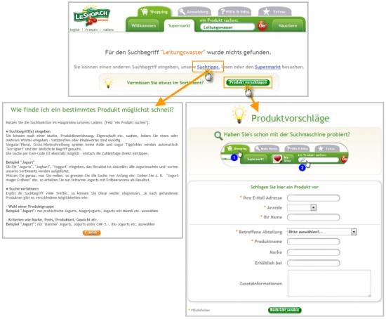 leshop.ch - Tipps und Produktvorschlag