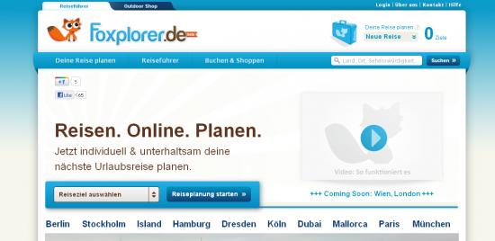 Startseite www.foxplorer.de